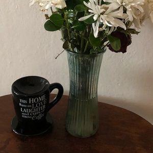 RARE Coffee-themed Tealight Tart Warmer NWOT